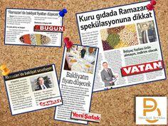 MÜŞTERİLERİMİZDEN...  Sezon Pirinç Yönetim Kurulu Başkanı Mehmet Erdoğan'ın ramazan ayındaki bakliyat fiyatlarına ilişkin görüşlerinin yer aldığı haberleri görebilirsiniz.