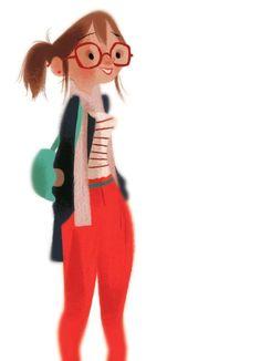 annette marnat #character-design
