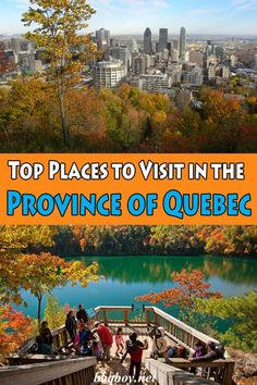 Top Places to Visit in the Province of Quebec. Quebec is best known for historic Quebec City and cosmopolitan Montreal, but what really makes the province special is its nature. Quebec has 47 national parks, all with a varied mix of natural attractions. All about that in this post #bbqboy #Quebec #Canada #travel #guide
