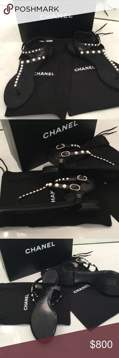 Beautiful Chanel Sandel size 41 Perfect condition worn once Chanel Shoes Sandals