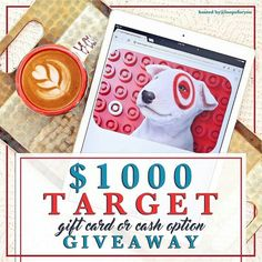 Go to ----> @charlieandcrewdad next! . . I've partnered up with some great #shops and #bloggers to gift one lucky #follower a $1000 gift card to Target - OR - $1000 in cold hard cash! You choose!  . To enter to #win follow these simple steps below: . 1. Follow me. We double check. . 2. Like this post. This is how we see your entry. . 3. Follow  @charlieandcrewdad next and repeat the steps above.  When you make it back here (and have followed everyone in the loop) you're entered to #win! . 4…