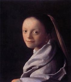 Portrait of a Young Woman - Johannes Vermeer