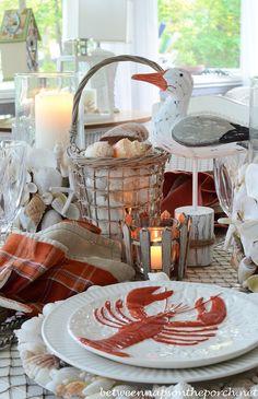 58 best Table Settings: Beachy/Nautical images on Pinterest | Beach ...