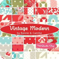 The Tilted Quilt: Charm Packs  Vintage Modern - LOVE!