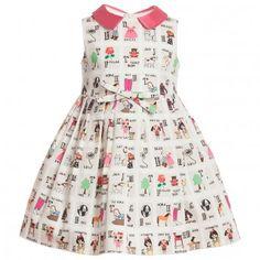 Simonetta    Alphabet Print Dress aw 2013