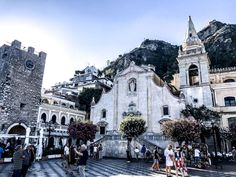 Taormina is one of the most beautiful place in Sicily!