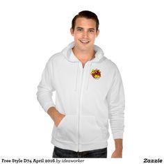 Free Style D74 Men's American Apparel California Fleece Zip  Hoodie   #design #fashion #freestyle #men #hoodiejacket