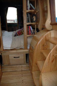 Hidey hole bedroom on Pilgrim by Simon Birtwistle