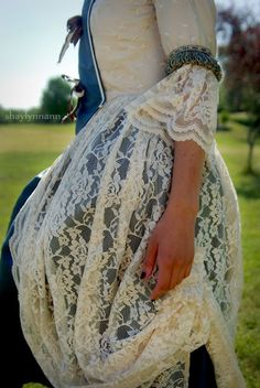 French Revolution gown photoshoot