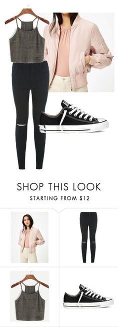 """Untitled #2"" by izzynike on Polyvore featuring Miss Selfridge, New Look and Converse"