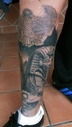 Egipcio #Egyptian #Tattoo #Tatuaje #PacoCardenas