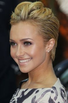 Pixie Cut ideas for formal styles