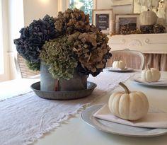 Little Farmstead: A {Farmhouse} Fall Dining Room...