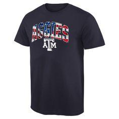 Texas A&M Aggies Banner Arch T-Shirt - Navy