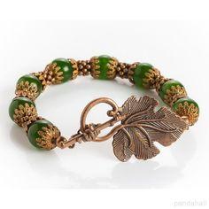 DIY Vintage Jade Beads Bracelet    PandaHall Beads Jewelry Blog