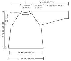 """Pulóver de punto DROPS con patrón de calados y raglán, en """"Muskat"""". Talla: S – XXXL. ~ DROPS Design"""
