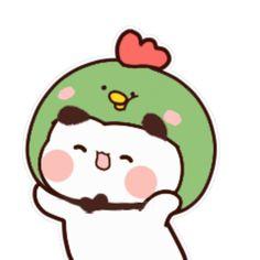 Cute Cartoon Pictures, Cute Love Cartoons, Cute Images, Bear Gif, Cute Bear Drawings, Chibi Cat, Cute Panda Wallpaper, Panda Wallpapers, Apple Wallpaper Iphone