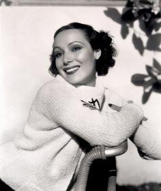Portrait of Dolores del Rio, 1930's