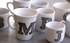 Diy Monogram Mugs Make Something Design Mom Diy Monogram Mugs Diy Monogram Mug Crafts Mugs Diy Diy Monogram Diy Holiday Gifts Homemade Stocking Stuffers Diy Monogram Coffee Mug The Handmade Home Diy Glitter Monogram Mugs… Homemade Christmas Gifts, Homemade Gifts, Christmas Diy, Christmas Presents, Semi Homemade, Christmas Images, Holiday Gifts, Craft Gifts, Diy Gifts