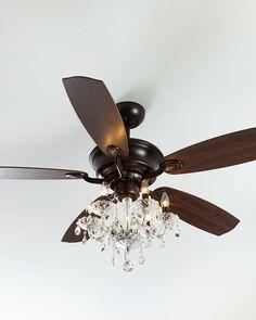 How to install a light kit for a ceiling fan new year new room julianne bronze fandelier aloadofball Choice Image