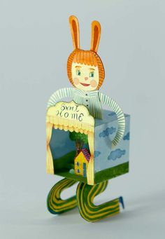 Elsa Mora Papercraft Toy for Diego.