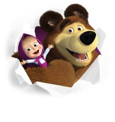 Tema da festa: Masha e o Urso!   Guia Tudo Festa - Blog de Festas - dicas e…