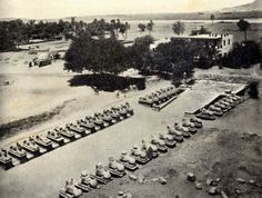 Avenue of Sphinxes 1924