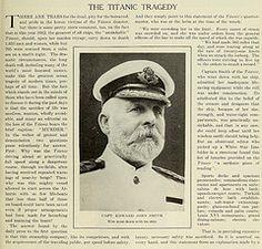 Titanic Captain Edward John Smith