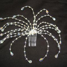 Swarovski crystal drop hair pin £30.00