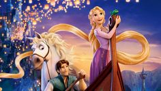 It is a modern day adaptation of the princess and the frog story we all heard as kids. Even though Rapunzel is a recent inclusion to Disney's list of leading ladies, she came out empowered and made an immediate impact. Disney Rapunzel, Art Disney, Tangled Rapunzel, Disney Movies, Tangled 2010, Disney Play, Disney Desktop Wallpaper, Tangled Wallpaper, Hd Wallpaper