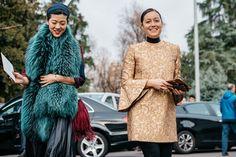Milan Fashion Week Street Style | British Vogue