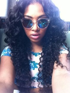Latest hair extensions deep curly wave Brazilian hair weaves http://www.latesthair.com/