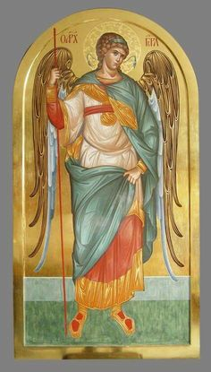 . Byzantine Art, Byzantine Icons, Religious Icons, Religious Art, Order Of Angels, Angel Hierarchy, Russian Icons, Art Icon, Guardian Angels