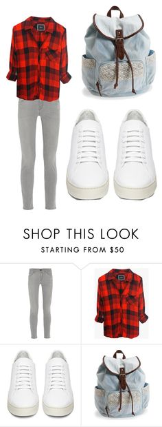 """School outfit"" by wolf134 on Polyvore featuring Frame Denim, Rails, Off-White and Aéropostale"