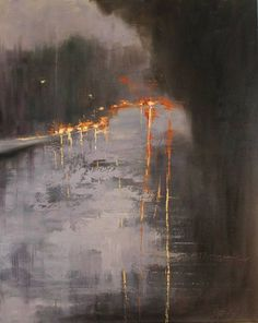 "Saatchi Art Artist Chin h Shin; Painting, ""On the Road"" #art"