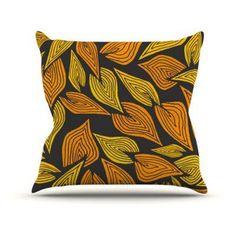 Kess InHouse Pom Graphic Design Autumn II Indoor/Outdoor Throw Pillow - PG1034AOP02