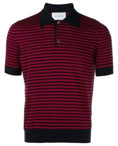 527ffad0c276 Best Designer Polo Shirts  Gucci. Striped Cashmere Polo Shirt.