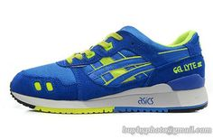 Men's Asics Gel Lyte III Sneaker Blue|only US$95.00 - follow me to pick up couopons.