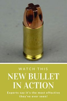 Watch this new bullet in action. Experts say it's the most effective they've ever seen! - Is this bullet overkill… yes or no?