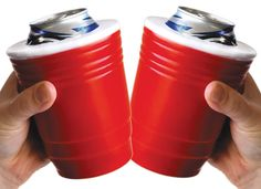 red solo cup beer koozies!