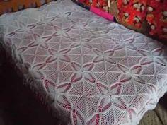 colchas y vestidos tejidos a crochet - YouTube