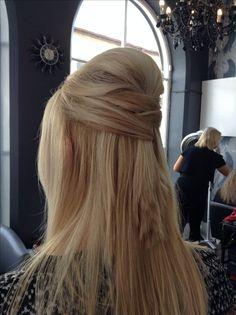 Hair up by Carlene