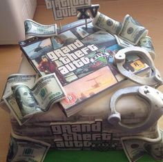 grand theft auto 5 cake - Google Search