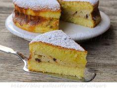 Torta versata alla ricotta e cioccolato, ricetta facile dolce da merenda, colazione, torta ripiena, ricotta, ricetta per bambini, dolce versato, torta veloce