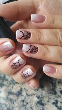Prom Nails, Wedding Nails, Oval Nails, Cute Nail Designs, Nail Tips, Cute Nails, Pedicure, Body Art, Make Up