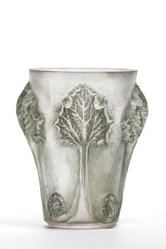 Vase [Rhubarbe] by René Lalique, France circa 1913