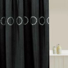 Lush Decor Mia White Shower Curtain By Lush Decor | White Shower, Basement  Bathroom And Upstairs Bathrooms