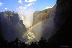 Die Victoriafälle, Afrika