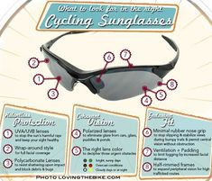 What To Look For In Cycling Sunglasses #workoutcyclingoutdoor