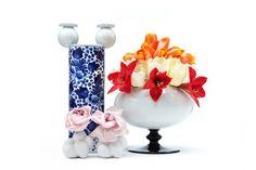 Egg vase & Delft blue vase by Marcel Wanders